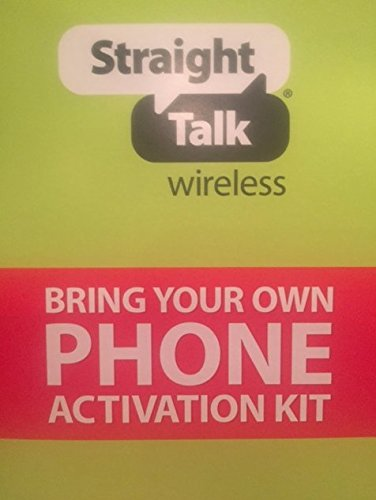 Straight Talk ST64PSIMC4BMB  Sim Card (Micro Size) and Activation Instructions Card for AT&T & Unlocked GSM Phones (Sold By Peaceful Products)