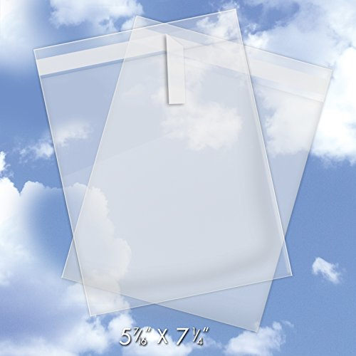 Crystal Clear Bags For Greeting Cards - 7