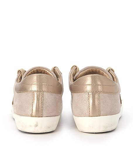 Sneakers Philippe Model Paris in suede laminato champagne Beige