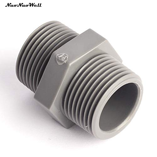 BIG-DEAL BD_5 Pcs/Lot UPVC 1 Inch Male Thread Pipe Connector Garden Plastic Irrigation Water Pipe Fittings Male Thread (Best Bd&a Pc Games)