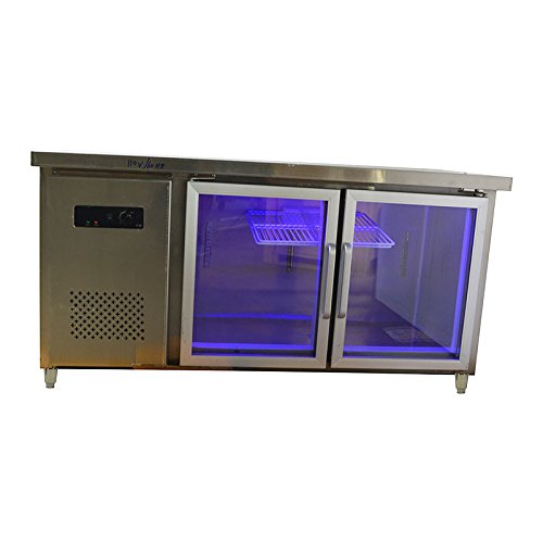 Glass Door Commercial Back Bar Refrigera Beer Cooler Hot Item #021246