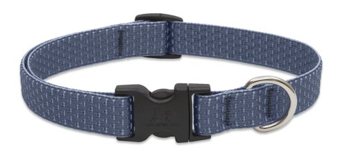 Lupinepet Eco 3 4  Mountain Lake 13 22  Adjustable Collar For Medium And Larger Dogs