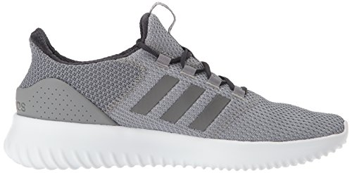 Originaux Adidas Mens Cloudfoam Gris Ultime De Chaussure De Course Trois Tissu, Gris Quatre Tissu, Du Carbone