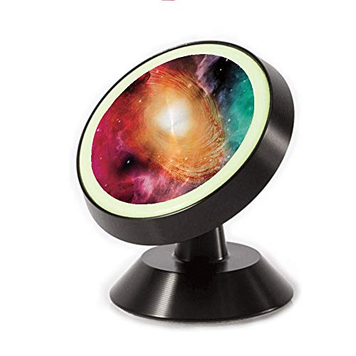Magnetic Dashboard Cell Phone Car Mount Holder,Astronomy Pictures of A Spiral Galaxy Stars,can be Adjusted 360 Degrees to Rotate,Phone Holder Compatible All Smartphones