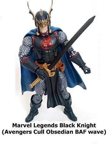 Clip: Marvel Legends Black Knight (Avengers Cull Obsidian BAF -
