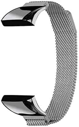 Tonsee Milanese Magnetic Stainless Steel Loop Replacement Strap with Magnetic Closure for Xiaomi AMAZFIT cor4 Watch