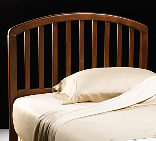 Headboard Size Cherry Twin (Natalie Cherry Twin Bed Headboard)