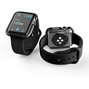 Amazon.com: Apple Watch Series 3 Case,Mangix Super Thin PC ...
