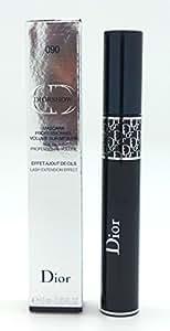 Christian Dior Diorshow Lash Extension Effect Volume Mascara for Women, 090/Pro Black, 0.33 Ounce