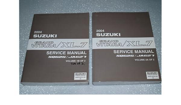 2004 suzuki xl7 owners manual