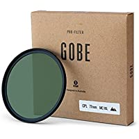 Gobe CPL 77mm Japan Optics 16-Layer Multi-Coated Polarized Filter