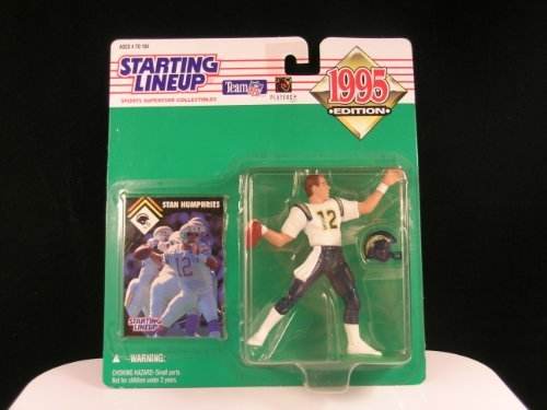 San Diego Chargers Stan Humphries Action Figure - 1995 Starting Lineup Team NFL Football Players, Inc. Sports Superstar Collectible Series
