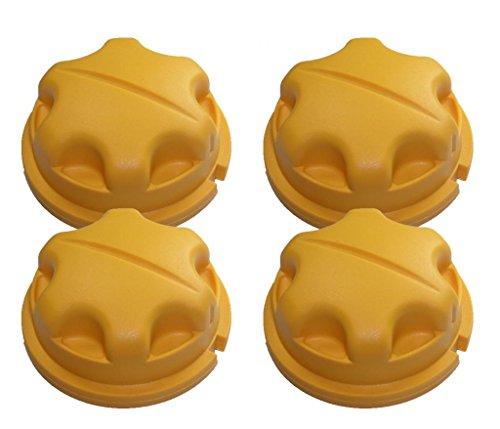 Trimmer (4 pack) Replacement Knob # 518803001-4pk (Ryobi Bump Knob)