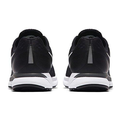 NIKE Women's Air Zoom Pegasus 34 Black/White Dark Grey Running Shoe 10 Women US by NIKE (Image #1)