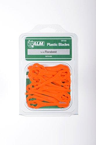 100 X Alm Gr182 Tondeuse Lames En Plastique Pour Tondeuse