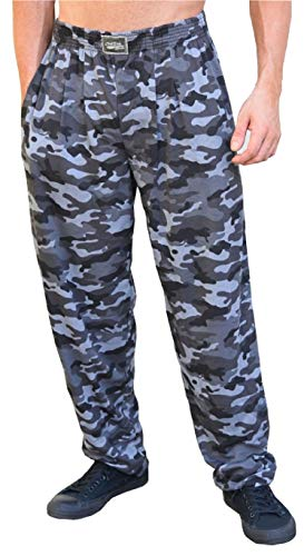 Crazee Wear Classic Urban Camo Relaxed Fit Baggy Pants for Men and -