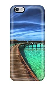 Tpu Case Cover For Iphone 6 Plus Strong Protect Case - The Beach Houses Design