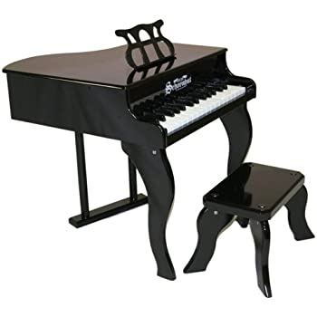 Amazoncom Schoenhut 30Key Fancy Baby Grand with BenchBlack