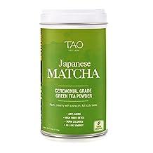 Tao Tea Leaf Organic Japanese Ceremonial Grade Matcha - 113g Green Tea Powder