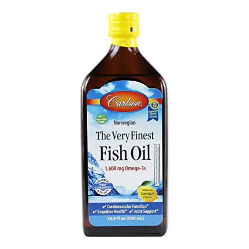 Carlson labs very finest liquid fish oil 16 9 fl oz for Carlson labs fish oil