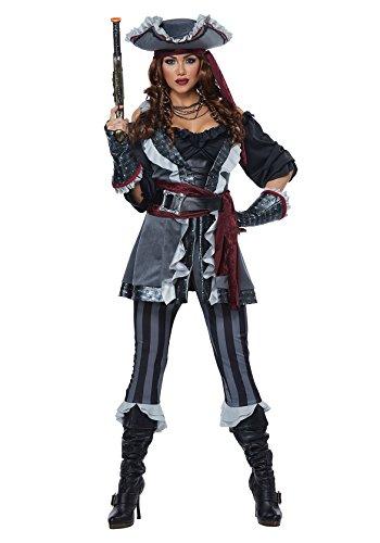 California Costumes Women's Captain Blackheart Adult Woman Costume,
