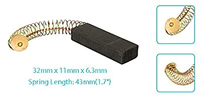 uxcell Carbon Brushes Brush Repairing Part for Generic Electric Motor