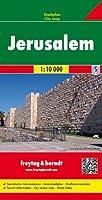 Jerusalén Plano Callejero. Escala 1:10.000.