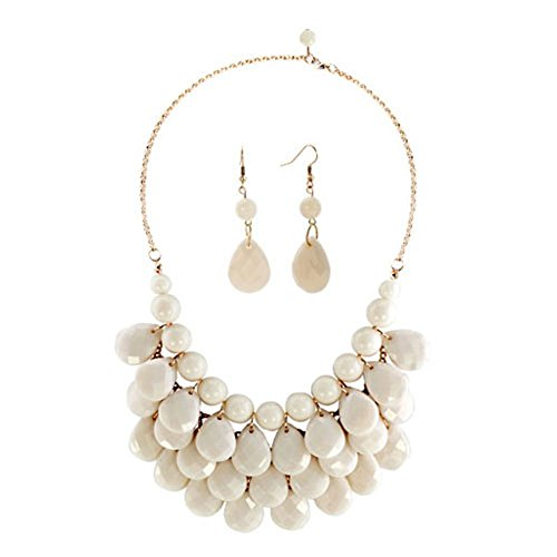 CharmsStory Vintage Statement Necklace Earrings