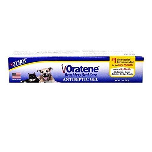 Oratene Antiseptic Oral Care Gel and Gingivitis 1oz by Zymox (Original -