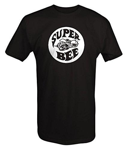 Dodge Challenger Super Bee (Super Bee Racing Charger Challenger Ram Racing Mopar Dodge T shirt - Xlarge)