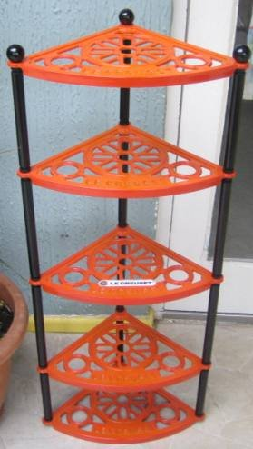 Favorite Le Creuset 5 Tier Pot Stand, Volcanic: Amazon.co.uk: Kitchen & Home LH95