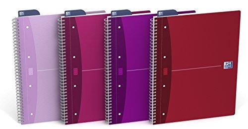 OfficeCentre A4 Oxford 100102978 Oficina Mujer Colegio bloque plus, 5mm a cuadros, 90 hojas, 90 g / m², en paquete de 5, clasificado: Amazon.es: Oficina y ...