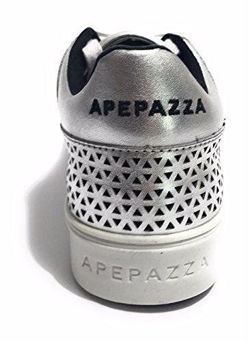 Argent Baskets Femme Pour Femme Apepazza Apepazza Pour Baskets qcpaC