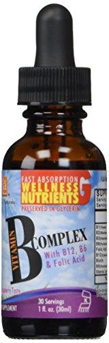 L A NATURALS Vitamin B Complex Drops, 1 Ounce