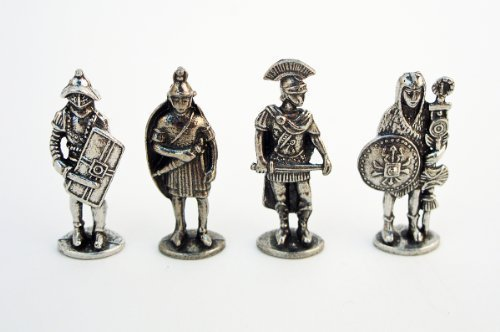 Roman Military Figures Miniature Set of Four Figures