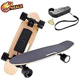 elifine 27.5'' Electric Skateboard with Remote Control with 250W Motor 12 MPH Top Speed Electric Skateboard Waterproof E…