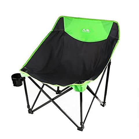 Arctic Monsoon Camp Foldable Saucer Moon Chairs for Kids Youth Camping