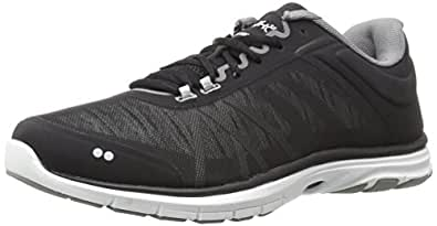 Ryka Women's Dynamic 2.5 Cross-Trainer Shoe,Black/White,5 M US
