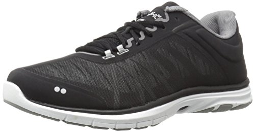 Shoes Ryka Black - RYKA Women's Dynamic 2.5 Cross-Trainer Shoe,Black/White,8 M US