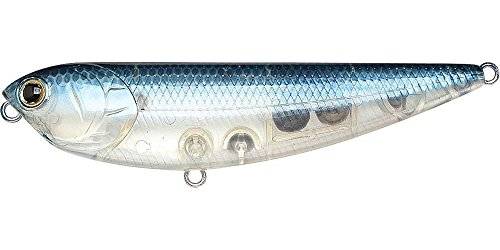 Lucky Craft Sammy Floating Lure, 7/16-Ounce 3 1/4-Inch, Ghost Blue Shad