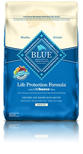 Blue Life Protection Formula Adult Chicken And Brown Rice Dry Dog Food 30 Lb