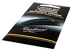 Vandoren VMC6 Mouthpiece Cushions; Clear...