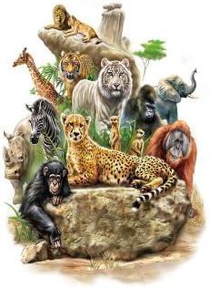 Oottati Tatuajes Temporales Muslo Brazo Leones Del Zoológico ...