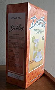 Peruvian Infusion Mate Tea (Delisse Brand, inca coca tea) 350 tea bags