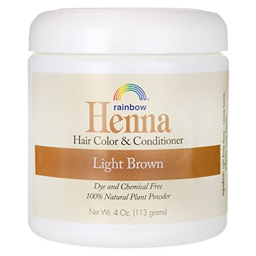 - Rainbow Research Henna Hair Color and Conditioner Persian Light Brown, 4 Ounce