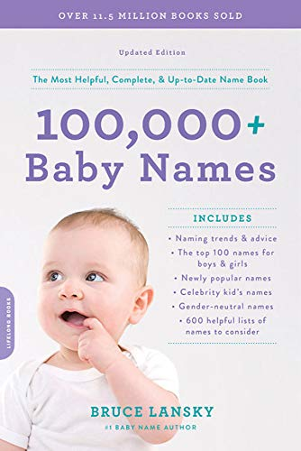 Pdf Fitness 100,000+ Baby Names: The most helpful, complete, & up-to-date name book