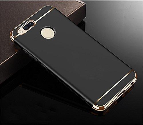 top fashion 8d742 82a4c mobbysol® Xiaomi Redmi Mi A1 / redmi mia1 3-in-1 Shockproof* Dual Layer  Thin Back Chrome 3 Piece Hybrid Protective Back Case Cover for Xiaomi Redmi  ...