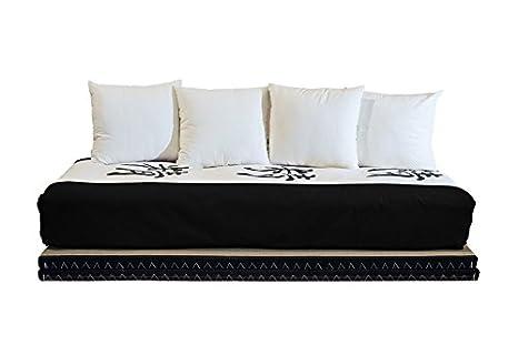 Letto Futon Matrimoniale : Vivere zen divano letto futon kanto double lux futon