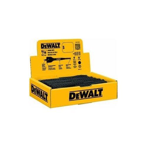 - DEWALT DW1575 9/16-Inch by 6-Inch Spade Drill Bit