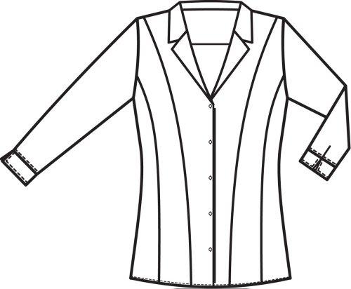 Greiff Para Camisas 3 4 Negro Mujer Manga cpx8FrwqpC